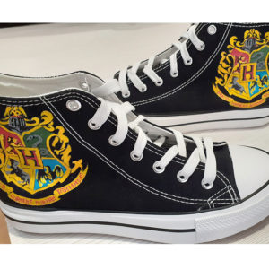 zapatillas pintadas a mano harry potter